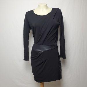 The Kooples Black Bodycon Dress Size Small